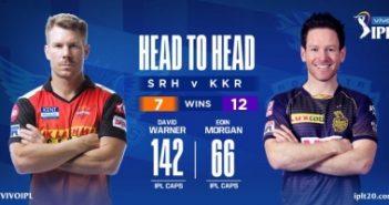 SRH win toss, choose to