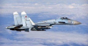 Russian fighter intercepts US