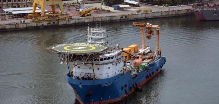 Indian Navy dispatches its deep submergence rescue vessel