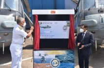 Special postal cover unveiled on the occasion of the golden jubilee of INAS 330