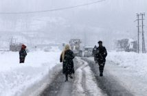 Rain, snow lashes valley, Ladakh