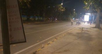 Night curfew in Lucknow,