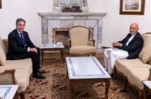 Ghani, Blinken meet in Kabul.