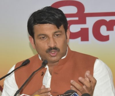 BJP MP Manoj Tiwari tests
