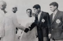 Football Olympian Ahmed