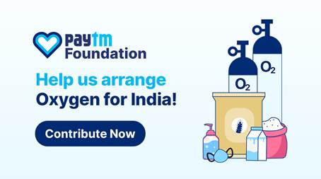 Paytm to airlift 21,000 Oxygen Concentrators under its