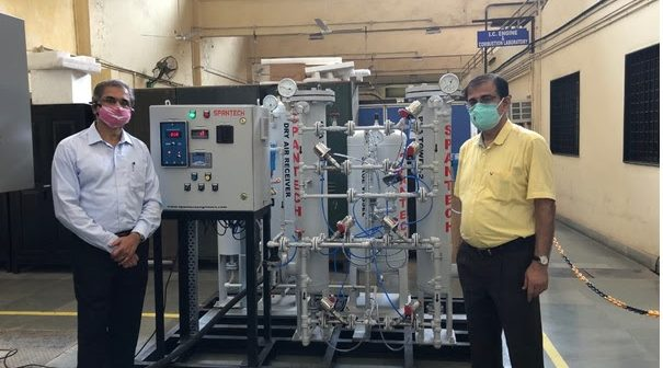 A simple and fast solution to the Oxygen crisis by IIT Bombay