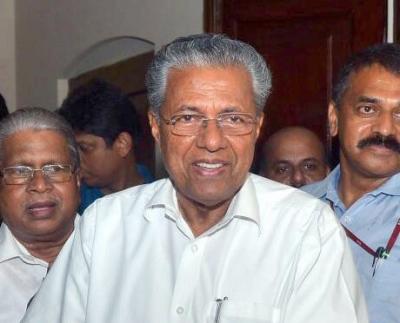Vijayan dedicates 'grand