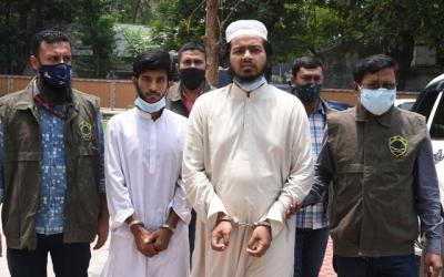 2 militants arrested for