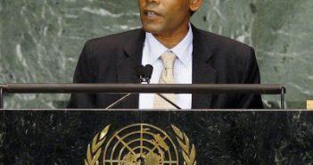 Ex-Maldivian Prez flown to