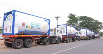 Liquid Medical Oxygen from Singapore sourced by IndianOil