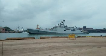 Indian Naval ships KOCHI & TABAR arrive at New Mangalore port