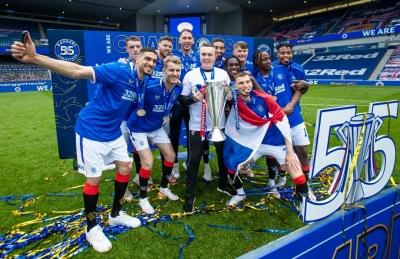 Rangers' fans blamed for