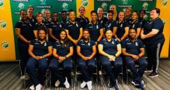 SA Emerging Women's squad