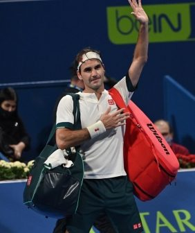 Post-injury, Federer gears up