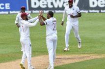 West Indies' Gabriel takes 2