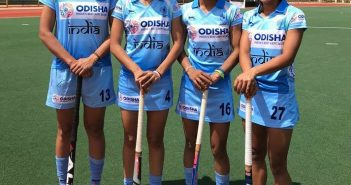 Four Players from the Mumbai Division of Central Railway