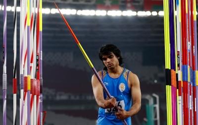 Chopra wins javelin gold at