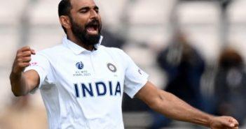 WTC final: Shami's 4-wicket