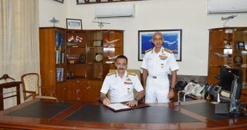Vice Admiral Ravneet Singh AVSM, NM assumed charge