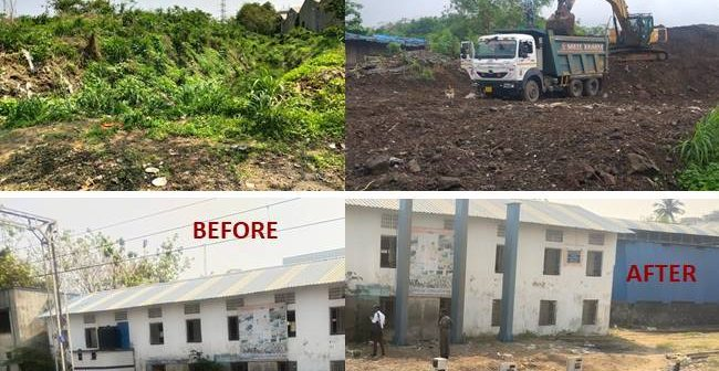 Massive muck removal drive conducted by railways over Mumbai suburban network. In order to keep the wheels of local trains running and to ensure