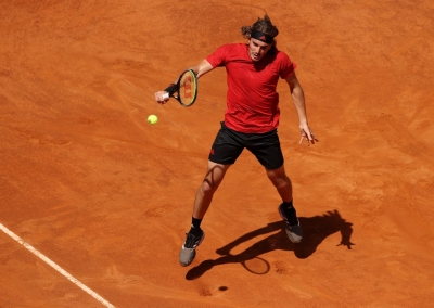 French Open: Tsitsipas in first