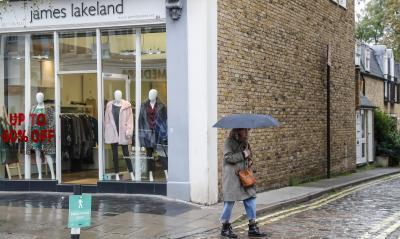 UK retail sales fall despite the