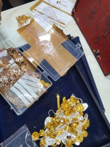 Enforcement search led to the seizure of gold jewellery bearing spurious BIS Hallmark