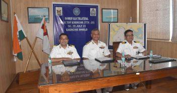 Tri nation tabletop naval exercise 'SHIELD' held at WNC, Mumbai