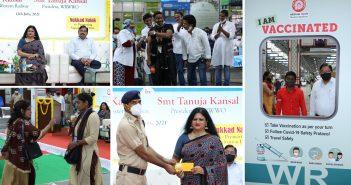 WRWWO organises a vaccination awareness drive at Mumbai Central station