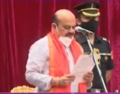 Basavaraj Bommai sworn-in as