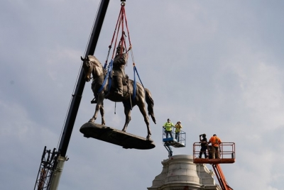 Virginia removes Confederate General's statue from the capital city